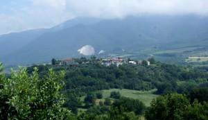 Panorama di Carattano (frazione di Gioia Sannitica)