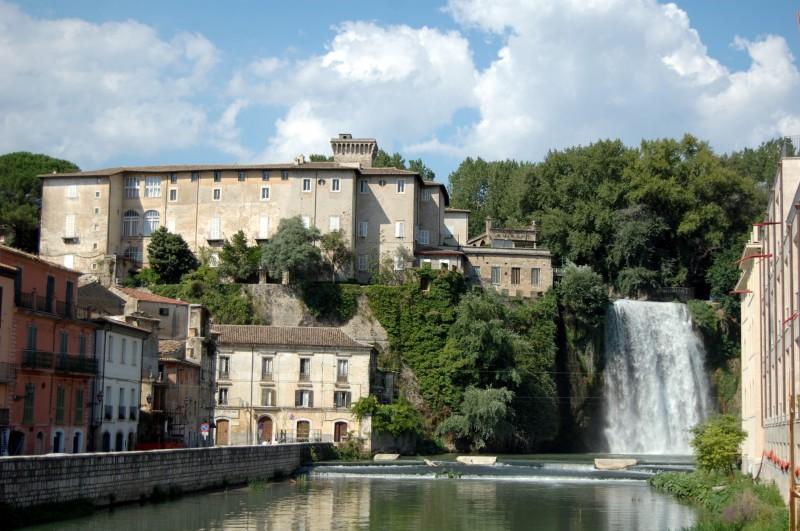 ''castello con cascata'' - Isola del Liri