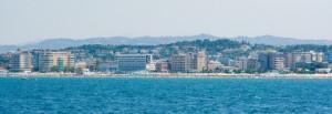 La costa Riccionese