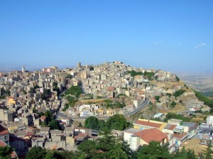 Enna, Vista dalla Torre di Federico