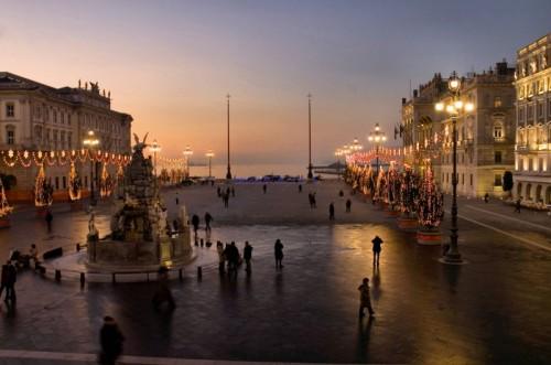 Trieste natale in piazza unit d italia for Mercatini di natale trieste