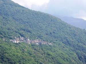 Panorama di Introzzo