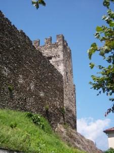 Castello degli Andreani nella frazione di Corenno Plinio