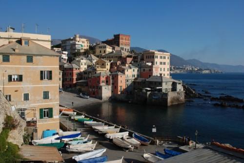 Genova - Che vento a Boccadasse quel giorno!