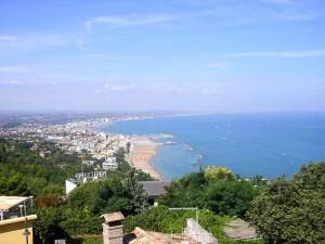 """La spiaggia di Gabicce vista dal .. """"Posillipo"""""""