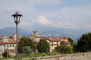 dal giardino di villa Camozzi