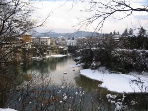 Cividale… panorama invernale