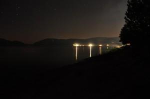 Notturno sul lago Arvo