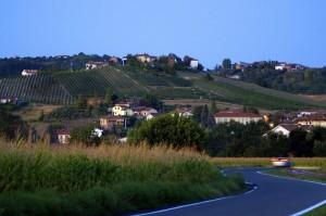 La sera a Villaromagnano