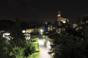 Veduta di Cellio by night
