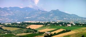 Panorama di Catignano.