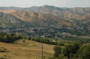 Borgo Tossignano visto da Tossignano