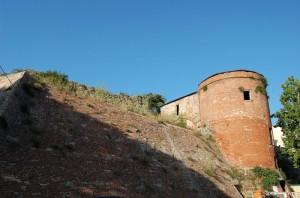 Mura urbiche a Citerna