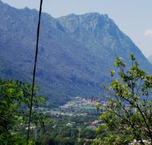 Panorama di Cortenova
