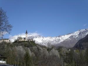 panorama di Giaglione (Val di Susa)