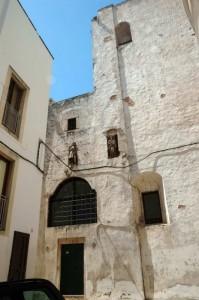 Fortificazione posteriore del Palazzo Romanazzi Carducci
