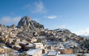 Neve a Caltabellotta