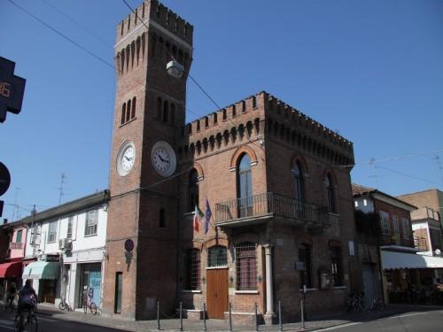 Lagosanto - torre dell' orologio