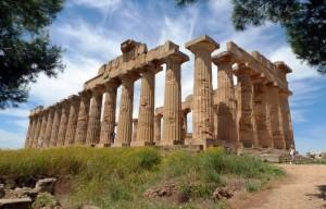 Il Tempio di Selinunte