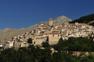 Castel del monte.  Panoramica
