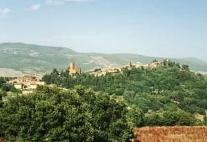 Panorama di Proceno