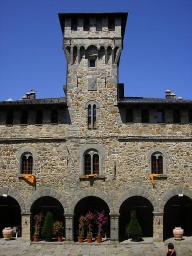 Porretta Terme - Castelluccio - Castello Manservisi