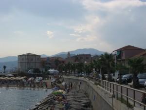 che calura a Santo Stefano al Mare!