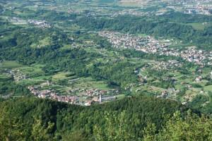 Fregona e la piccola frazione di Osigo, le terre del Torchiato