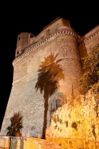 Forte San Gallo by night - profilo