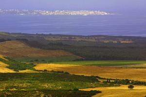 Calasetta vista dal Monte Sirai