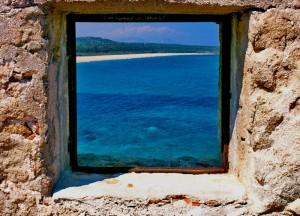 Il mare dalla torre di Barì