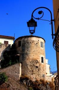 torre sud del castello Colonna di Eboli