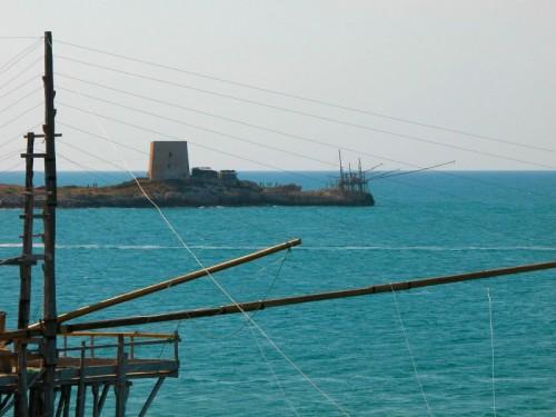 Peschici - Torre di avvistamento e Trabucchi a Manacore
