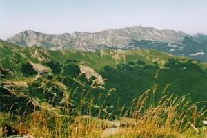 I monti Giovo e Rondinaio