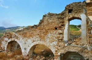 rovine del castello arabo