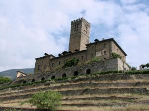 Il castello di Sarre
