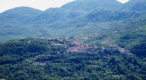 Panorama di Anticoli Corrado