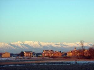 La pianura e le montagne