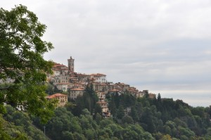 Veduta su Santa Maria del Monte