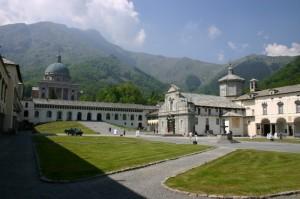 il complesso del Santuario di Oropa