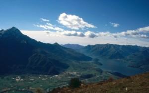 Il fondovalle di Piantedo dal Monte Bassetta