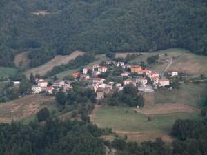 """"""" Valmazzola """"    vista dalla cima del cucuzzolo"""