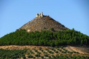Il castello… sul cono.