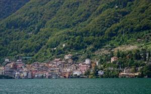 Panorama di Brienno sul lago di Como
