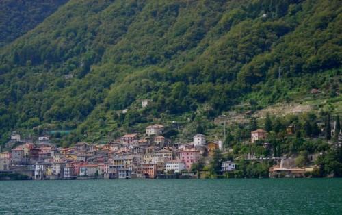 Brienno - Panorama di Brienno sul lago di Como