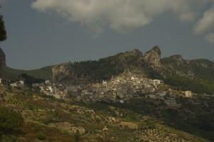 Panoramica di Jerzu
