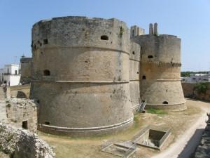 Torrione del castello di Otranto