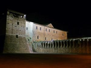 Notturno alla Rocca Malatestiana!
