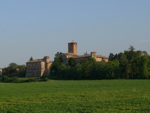 Il castello dalla ferrovia
