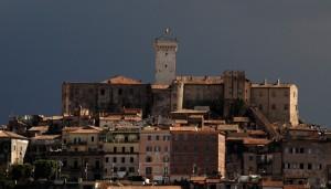 La Rocca che domina Palombara Sabina